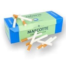Mascotte carbon charcoal cigarette tubes 200 2d 0001