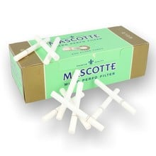 Mascotte gold perforated  cigarette tubes 200 2d 0001