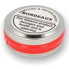 Fribourg and Treyer Bordeaux English Snuff (Large Tin)