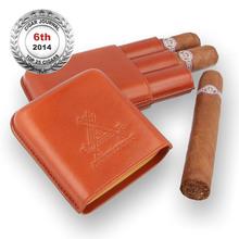 ***DISCONTINUED*** Montecristo Edmundo Leather Cigar Case (3 Cuban Cigars)