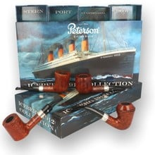 **SOLD** **LIMITED EDITION** Peterson Iceberg 1912 Collection Set of 4 Collectors Edition Pipes