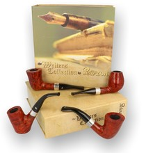 **SOLD** Peterson The Writers Collection Set of 4 Briar Pipes