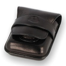 **DISCONTINUED** Don Puro Leather Cigarette Packet Holder 603 Black