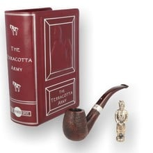 Alfred Dunhill Limited Edition Terracotta Army Cumberland Pipe WS00012551 17/60