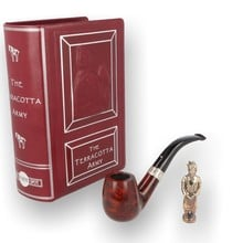 Alfred Dunhill Limited Edition Terracotta Army Amber Root Pipe WS00012473 17/20