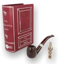 Alfred Dunhill Limited Edition Terracotta Army Chestnut Pipe WS00012636 43/60