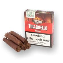 Toscano Toscanello ROSSO Italian (Coffee Flavour) Box of 5 Cigars