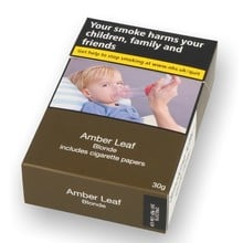 Amber Leaf BLONDE Hand Rolling Tobacco with Rolling Papers (30g)
