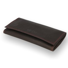 Zippo Soft Leather Tri-Fold Wallet Tobacco Pouch (2005130)