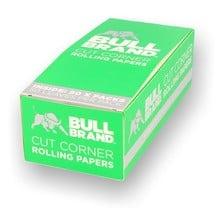 Bull Brand Green Regular Cigarette Papers (Full Box)