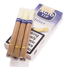 **DISCONTINUED** Agio Filter Tipped Cigars (5 Charcoal Filtered Cigars)