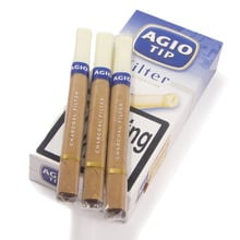 **DISCONTINUED** Agio Filter Tipped Cigars (10 Charcoal filtered Cigars)