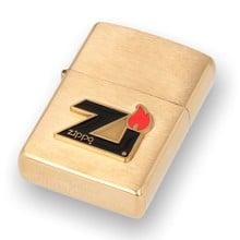 **DELISTED** 204B Zippo Flame Brass Zippo Lighter