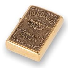 254BJD428 Jack Daniel's Brass Label Zippo Lighter