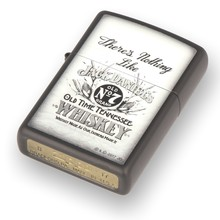 **DISCONTINUED** 29293 Jack Daniel's There's Nothing Like Matte Black Zippo Lighter
