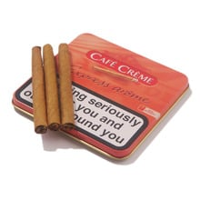 **DISCONTINUED** Cafe Creme Express Arome Aromatic (Tin of 10 Miniature Cigars)