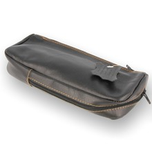 ***DISCONTINUED*** Mestango Real Leather Black Pipe Combination Pouch