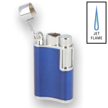 ***DISCONTINUED*** Vector Flask 06 Blue Windproof Lighter