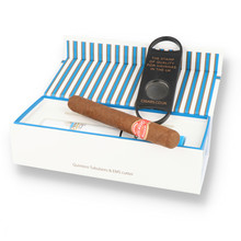 **DISCONTINUED** Quintero Tubulares Gift Box (Single Tubed Cuban Cigar & Cutter)