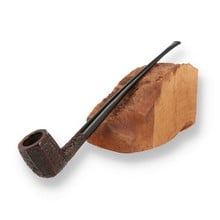 Wessex Fireside British Made Budget Briar Churchwarden Reading Pipe 12