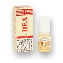 DEA 10ml 14mg Sunlight (Natural Tobacco) Premium Italian Eliquid