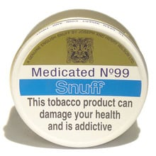 J&H Wilson Medicated No.99 Snuff (20g Tins)