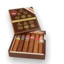 Habanos Seleccion Robustos Cuban Cigar Selection (6 Robusto Cigars)