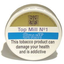 **DISCONTINUED** J&H Wilson Top Mill No.1 Snuff (Large Vacum Sealed Tins)