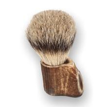 English Pewter Company Stag Horn Shaving Brush SHAV015