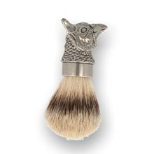 English Pewter Company Pewter Pheasant Head Shaving Brush SHAV023