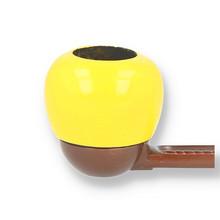 **DISCONTINUED** Falcon Coloured Apple YELLOW Briar Bowl