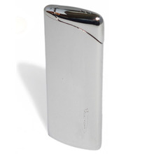 ***DISCONTINUED*** Vector Supra (2C) Polished Chrome Turbo Flame Unisex Cigarette Lighter